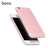 HOCO Soft Ultra thin Phone Cases For iPhone 6 6s PLUS 4.7 & 5.5 Inch Clear Transparent Case Protection Cover For Apple Shell(Hong Kong)