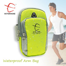 1 piece 5.5inch Running Jogging GYM Phone Bag Sports Wrist Bag Arm Bag ,Outdoor Waterproof Nylon Hand Bag For Camping Hiking(China)