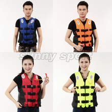 Drift life jacket special supply adult professional fishing clothing outdoor life jacket Life vest Multicolor Men and women