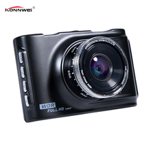 "Dash Cam Camera FHD 1080P Car DVR 3"" LCD Display Vehicle Camcorder Night Vision 120 Wide Angle Len Digital Video Recorder"