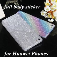For Huawei P8 Lite honor 5X 5A 7 Cell Phone Decor Full Body Sticker Fashion Skin Luxury Diamond Bling Film