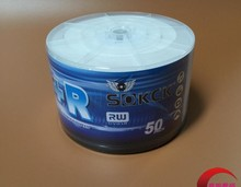 Wholesale 10 discs A+ Sokck 16x 4.7 GB Blank Printable DVD+R