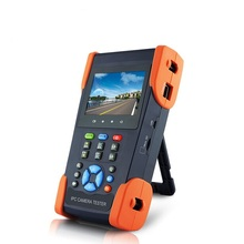 "English Version 3.5"" inch HDCVI Camera & IPC & Analog Camera Tester Monitor, Portable CVI CCTV security Tester with multimeter"