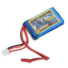 Hot Giant Power 850mAh 2S 7.4V 25C Quadcopter Battery Lama For WLtoys V912 For RC Camera Drone Spare Parts