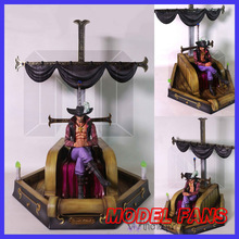 MODEL FANS instock One Piece 30cm/43cm Dracule Mihawk Sitting position gk resin toy Figure for Collection