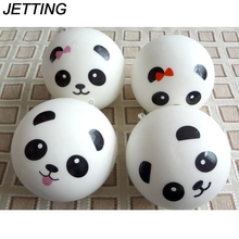 JETTING 7cm Jumbo Panda squishy slow rising Charms Kawaii Buns Bread Cell Phone Key/Bag Strap Pendant Squishes(China)