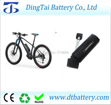 new side open down tube shark dolphin ebike battery 36v 10ah 10.4ah 13ah 14ah 36v 200w 250w 350w 500w motor battery pack(China)