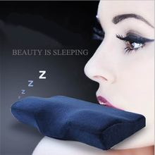 New Comfortably Massage Orthopedic Neck Pillow Neck Memory Foam Pillow Zero Stress Healthy Wave Sleeping Pillow(China)
