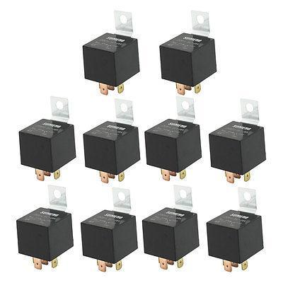 DC 24 Volts 40A 1NO+1NC SPDT 5 Pin JD2914 Type Auto Car Relay 10 Pcs<br>