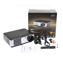 RD806A 2800 Lumens Home HD Theater 1080P LED Projector TV Video Games Beamer Home Cinema With 2HDMI+2USB Projector Proyector