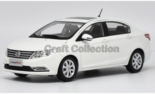 *White 1:18 Dongfeng Aeolus A30 Sedan Diecast Model Car Gifts Model Car Kits Simulation Model Limited edition Van Mini Bus
