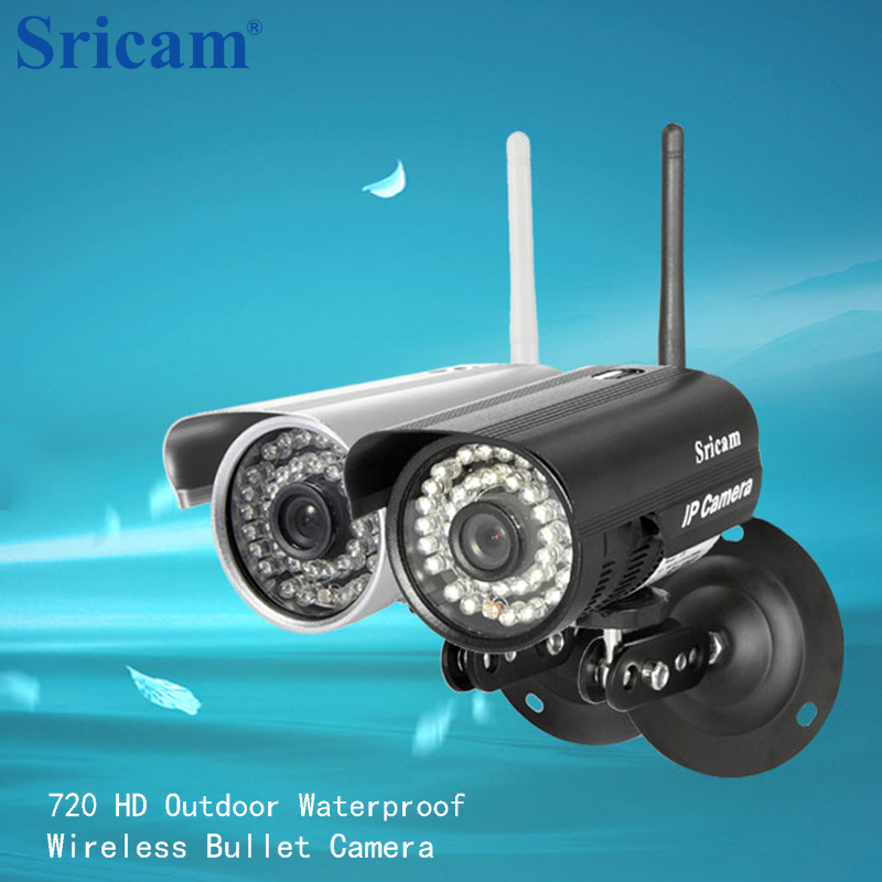 Sricam SP013 HD 720P Infrared Camera Outdoor Waterproof ONVIF WIFI Night Vision IP CCTV Bullet Camera Support IOS/Android/PC<br>