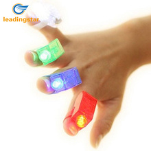 LeadingStar LeadingStar Great Children Gift 4pcs LED Finger Lamps Great Children Toy Party Dress Up Tools Colorful zk15