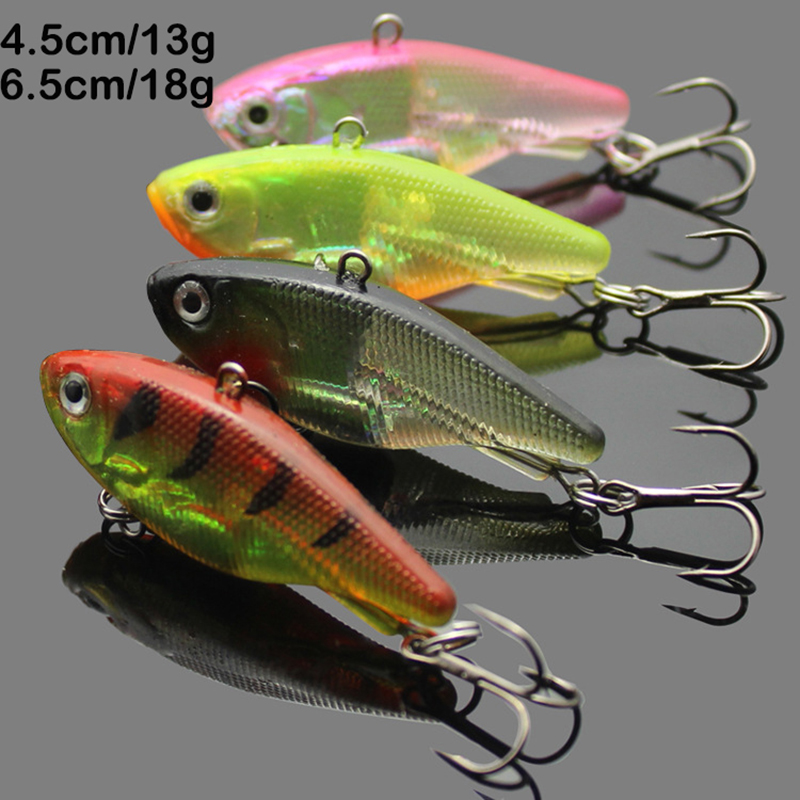 new arrival Soft Pesca VIB lures for sea bass fishing 3pcs soft baits carp crankbaits with treble tackle hooks<br><br>Aliexpress