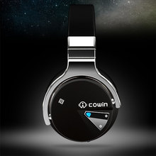 100% Original cowin ANC wireless Headphones hifi over ear high quality bluetooth earphone with microphone mic for phone computer samsung iphone gaming(China)