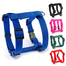 4 Sizes XS S  M L Nylon Small Harness For Dog Pet Puppy Adjustable 5 Colors Black Blue Red Green Rose