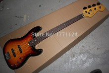 Free Shipping Top Quality Custom shop 4 string Bass guitar initiative to Precision Bass guitar In Stock(China)