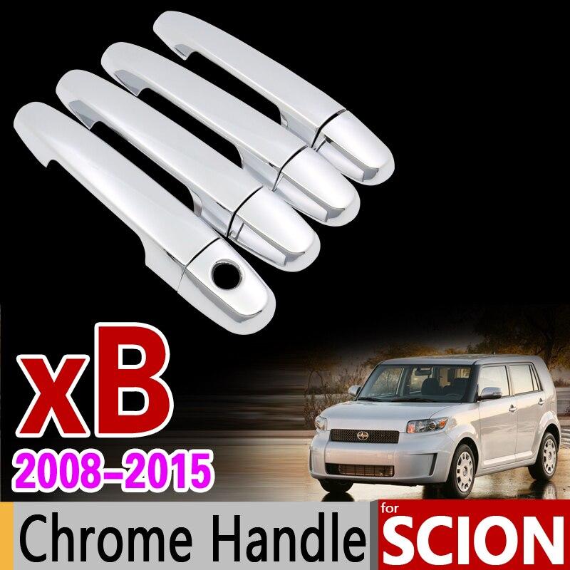 SCION XB CHROME DOOR HANDLE COVERS 2008 2009 2010