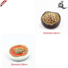 1 pcs,36-38mm mix  fashion metal acrylic Fur buttons, Mink coat buttons. Rhinestone buttons. big with a diamond buckle.accessory