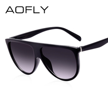 AOFLY Fashion Sunglasses Women Brand Designer Luxury Sun glasses Female Gradient Glasses For Ladies Gafas Oculos De Sol UV400(China)