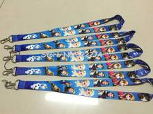 Lots 10 pcs x  New  Popular Fashion Anna Pricecess Elsa Girl  Phone lanyard Key chain Strap Charm Gift  Free shipping