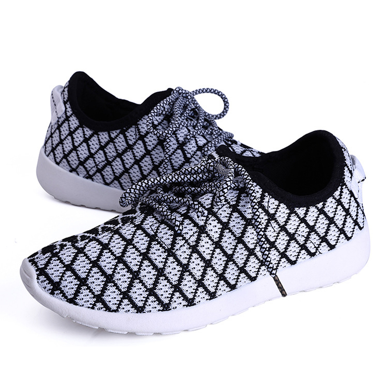 new arrival women casual shoes breathable lace-up mesh shoes for women flat trainers ladies walking shoes zapatos mujer DT121<br><br>Aliexpress