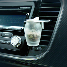 Car air freshener Purifier perfume smell stone Scents Smoke fragrance AC outlet clip car gift refresh your car