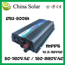 Grid Connect Inverte 800W GTI 800 Solar Photovoltaic System to AV110 / 230V(China)