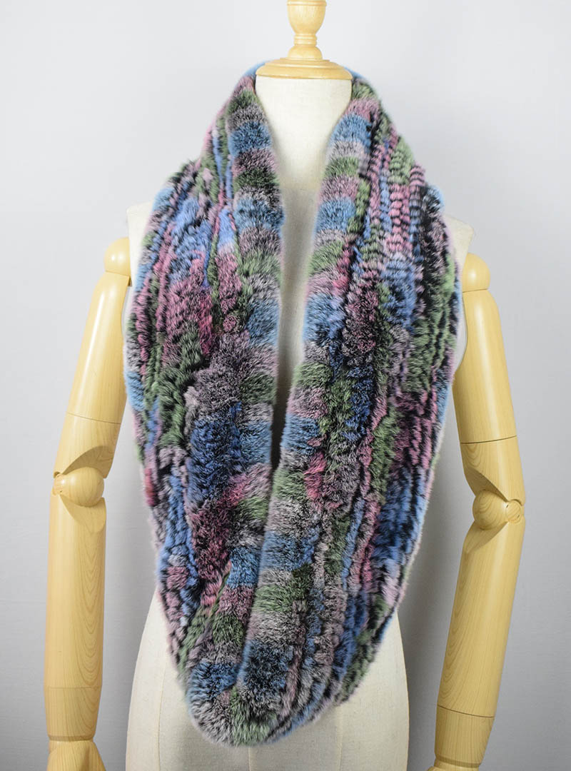 rex rabbit fur scarf 10