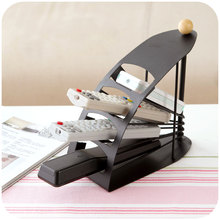 Four remote control Iron stand storage rack, desktop TV air conditioning remote control receptacle
