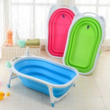 Tub PP Bathtub Infant Newborn Folding Bathtub Babies Bath Tubs Baignoire Baby Children Home Bath Tub Gift