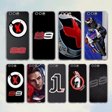 jorge lorenzo lorenzo 99 Logo red X design hard transparent clear Cover Case for huawei P10 P9 Lite P9 P10 Plus P8 Mate 9 S 8 7