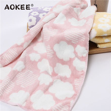 34*80cm Baby Face Towel AOKEE Brand Bath Towel for Adults Soft Healthy Microfiber Towel Bathroom Face Towel High Quality toalhas(China)
