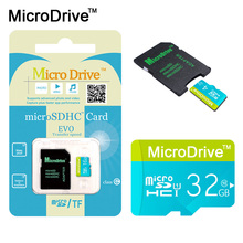 New Microdrive Micro SD Card 4G 8GB mini sd card 16GB 32GB 64GB Class 10 Memory Card Flash TF card for cell Phones Tablet Camera(China)