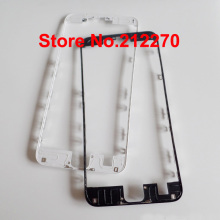 "Free DHL EMS New Front LCD Middle Frame Bezel With Hot Glue For iPhone 6S Plus 5.5"" Replacement Parts Black/White Wholesale"