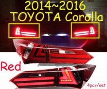 car-styling,Corolla Taillight,2014~2015,led,Free ship!4pcs,Corolla fog light;car-covers,Corolla tail lamp; Corolla