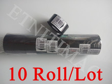 Enhanced Ink Ribbon For Thermal transfer Printer 30x100m date code plastic and paper printing ribbon 10 Roll / lot