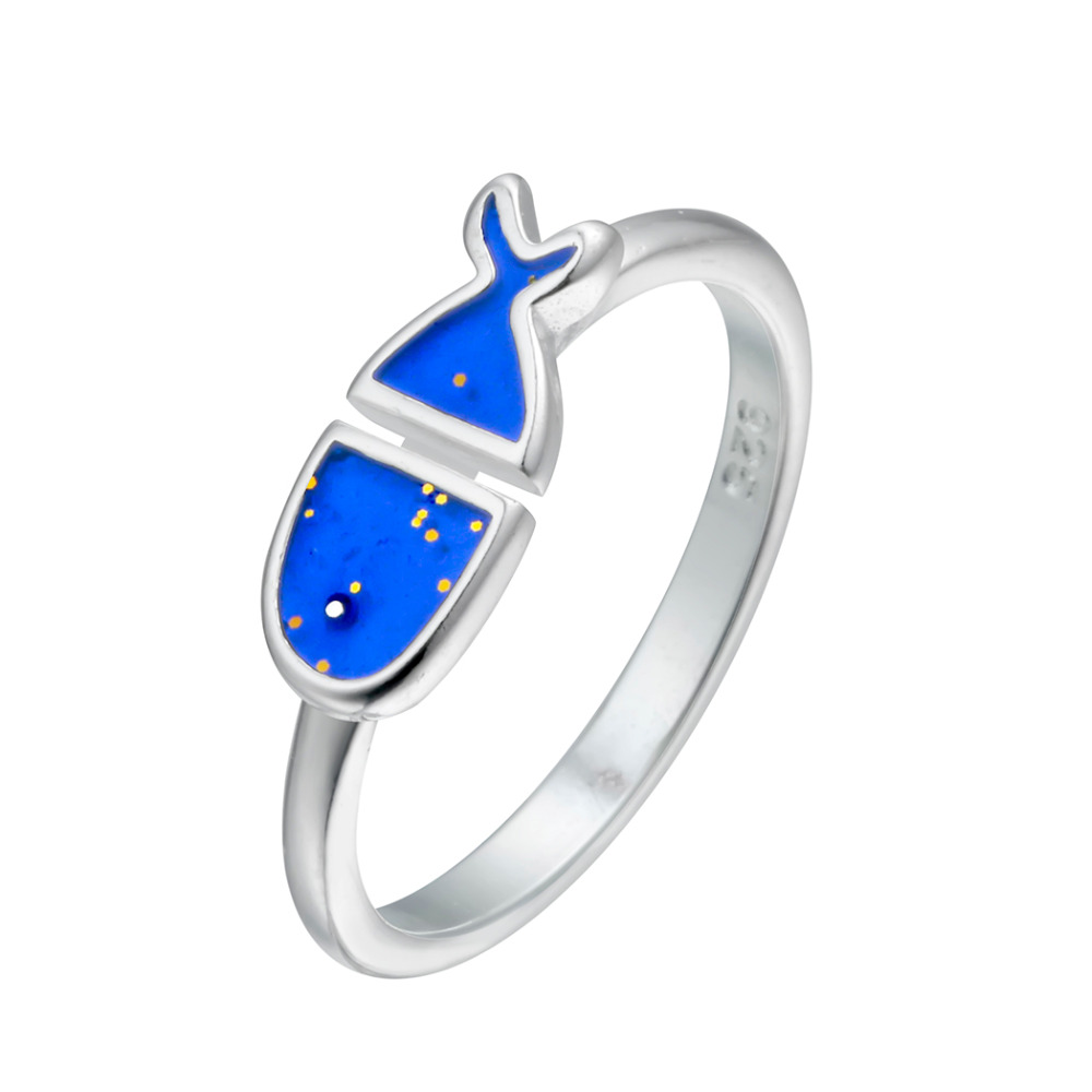 QIAMNI-925-Sterling-Silver-Lovely-Blue-Fish-Animal-Finger-Ring-Wedding-Birthday-Gift-Christmas-Party-Jewelry