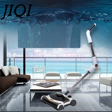JIQI Sweeping mop robot hand push home cordless electric sweeper mopping automatic drag broom vacuum cleaner 100-240V 110V EU US