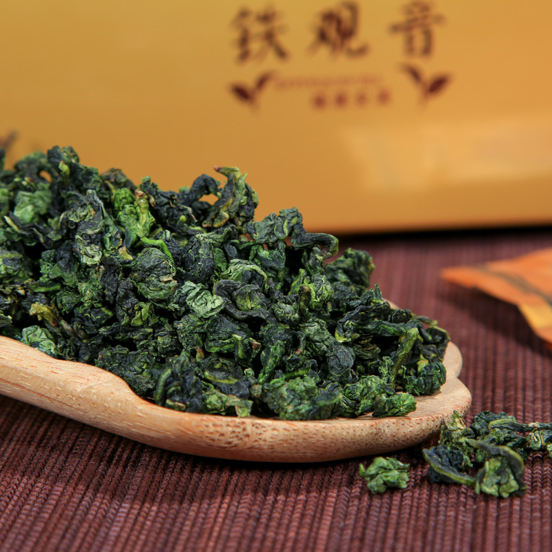 [GREENFIELD] chinese tea tie guan yin Oolong tea China Anxi Fujian tie guan yin 1725 tieguanyin Tea 125g tieguanyin(China (Mainland))