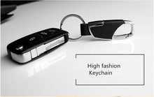 Car-Styling Fashion Leather car key ring for Lexus RX NX GS CT200H GS300 RX350 RX300 Seat Leon Ibiza Altea MG 3 car Accessorie(China)