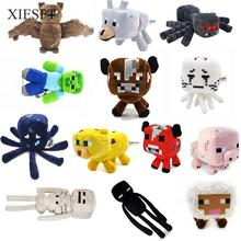 XIESPT High Quality Minecraft Toy Stuffed Plush Toys Cartoon Doll Brinquedos For Kids Gift Free Shipping