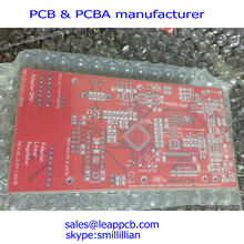 red pcb prototype,HASL printed circuit board supplier,pcb manufacturer,1oz copper thickness pcb