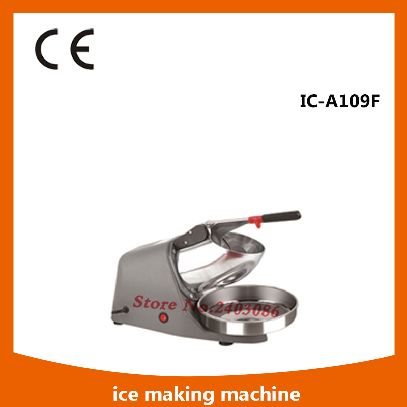 IC-A109F portable countertop crushed ice maker machine price 220V ice crusher blender for espresso coffee machine for commercial<br>