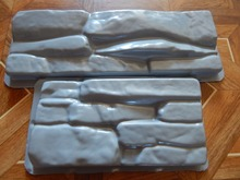 Plastic Molds for Concrete Plaster Wall Stone Tiles for Garden Decoration 2pcs(China)