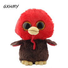 GXHMY Ty Beanie Boos Red Bird Plush Toy Doll Stuffed & Plush Animals
