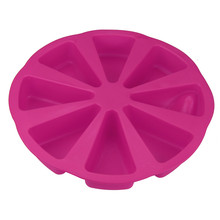 New Amazing Silicone Bakeware Baking Food Mold 8 Points Scone Cake Home Used In Microwave Molde De Silicone Cake Mould