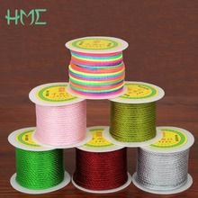 HMC 3MM 27yard/roll 16 Colors Nylon Chinese Knot Cord Macrame Rope Craft Making String Thread  Jewelry Findings Diy Cord NEW