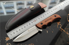 New Browning Fixed Blade Stainless Steel Knife 5Cr13Mov Multi Functional Hunting Knife Survival Knives(China)