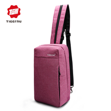 2017 Tigernu Brand Women Messenger Bag Fashion Waterproof Crossbody Bags For Women Cross body Bag Shoulder Bags Back pack(China)
